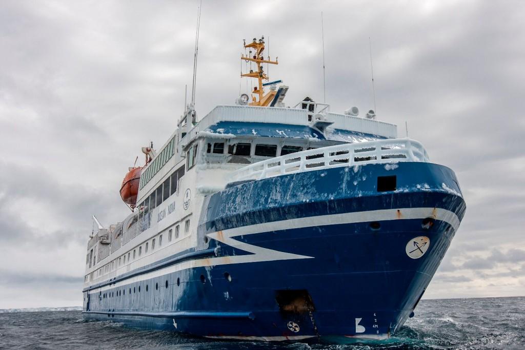 Antarctic Cruise Ship MS Ocean Nova