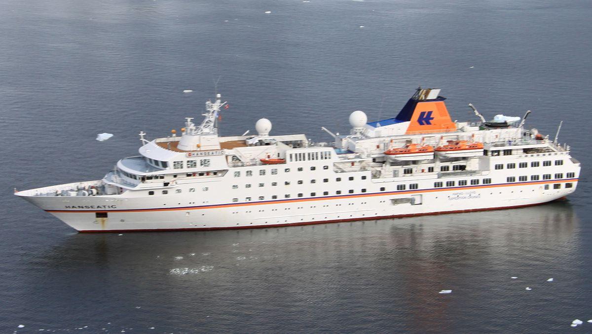 Antarctic Expedition Cruise Vessel HS Hanseatic