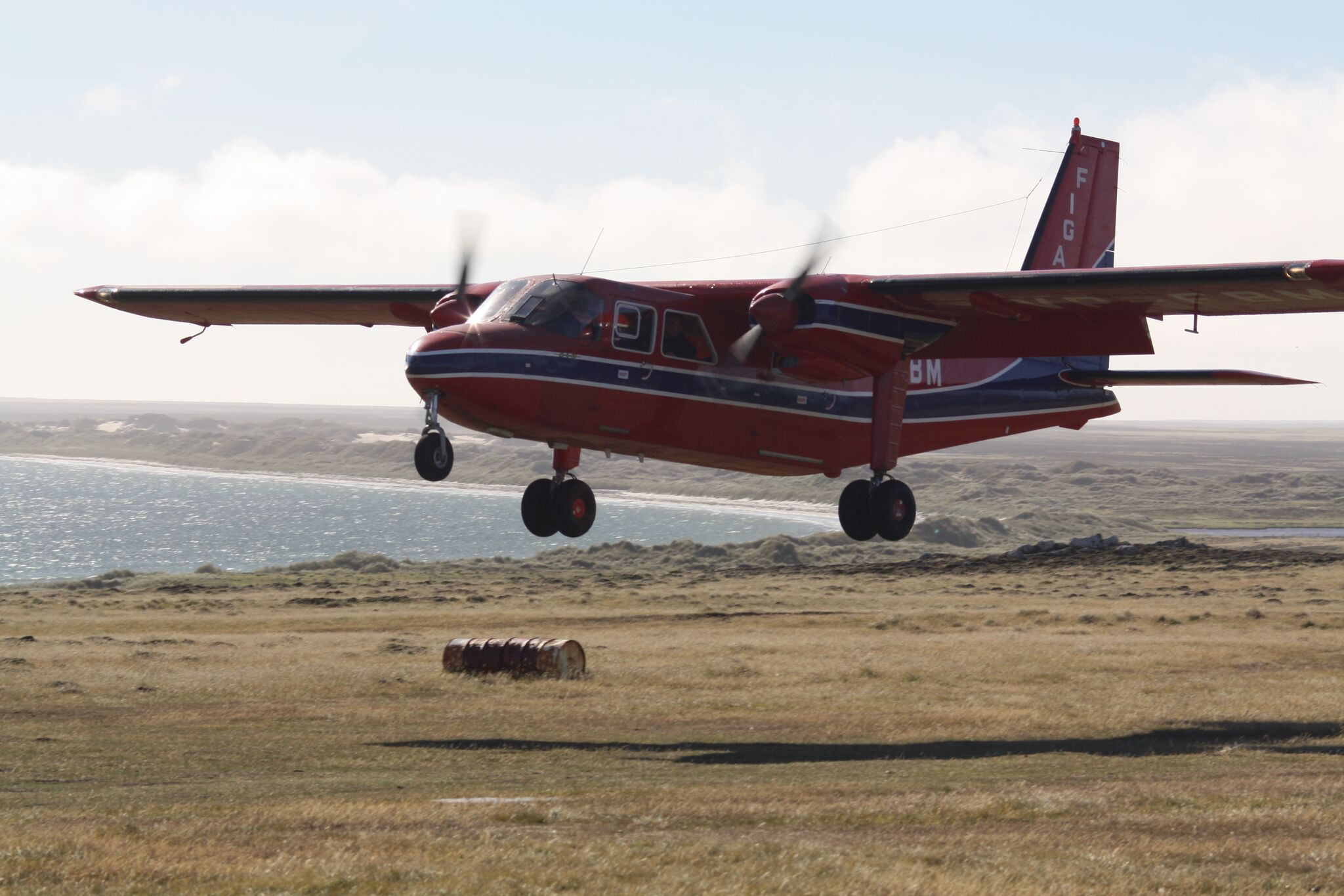 The Flight from Pebble Island