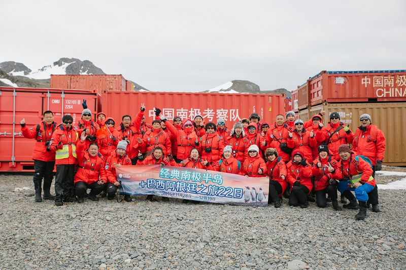 passengers on a cruise to antarctica come in all shapes and sizes (and nationalities)
