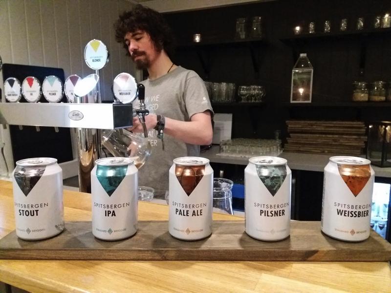 Day 3 spitsbergen brewery