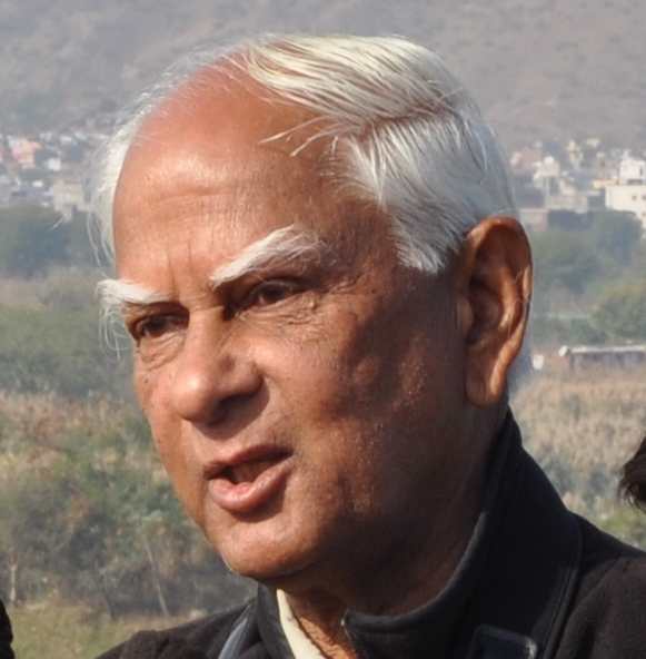 Pioneering Indian conservationist and wildlife expert Harsh Vardhan