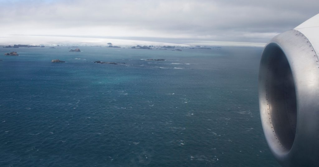Antarctica XXI have made it possible to fly across the Drake Passage