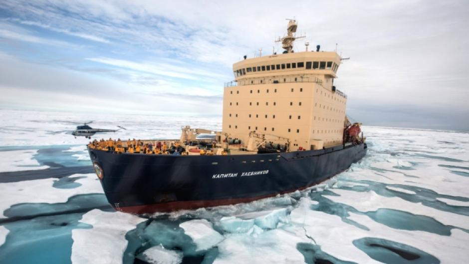 Arctic cruise ship Kapitan Khlebnikov