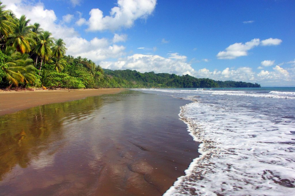Beautiful beaches of Costa Rica