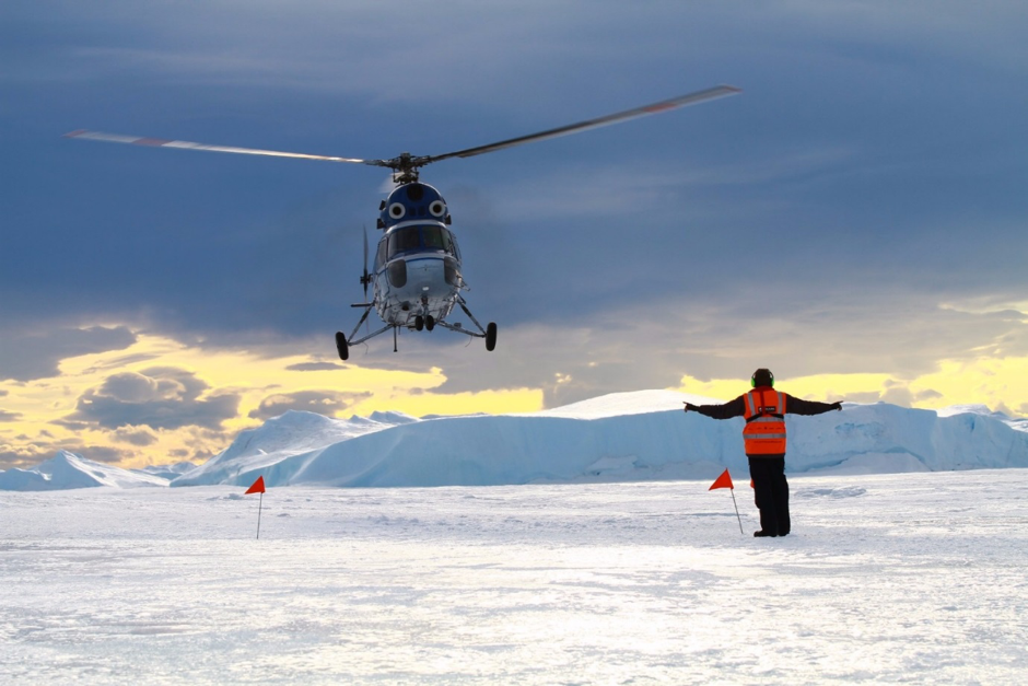 Adding to the adventure, a helicopter shuttle to reach the inaccessible penguin rookery