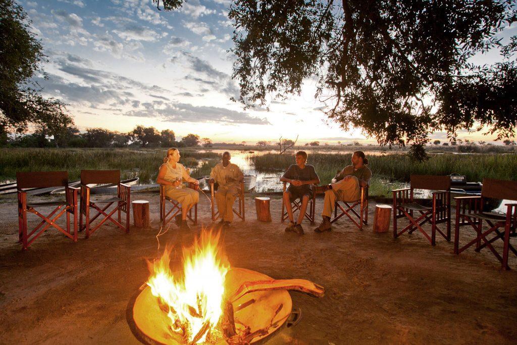 Spectacular sunsets in Botswana