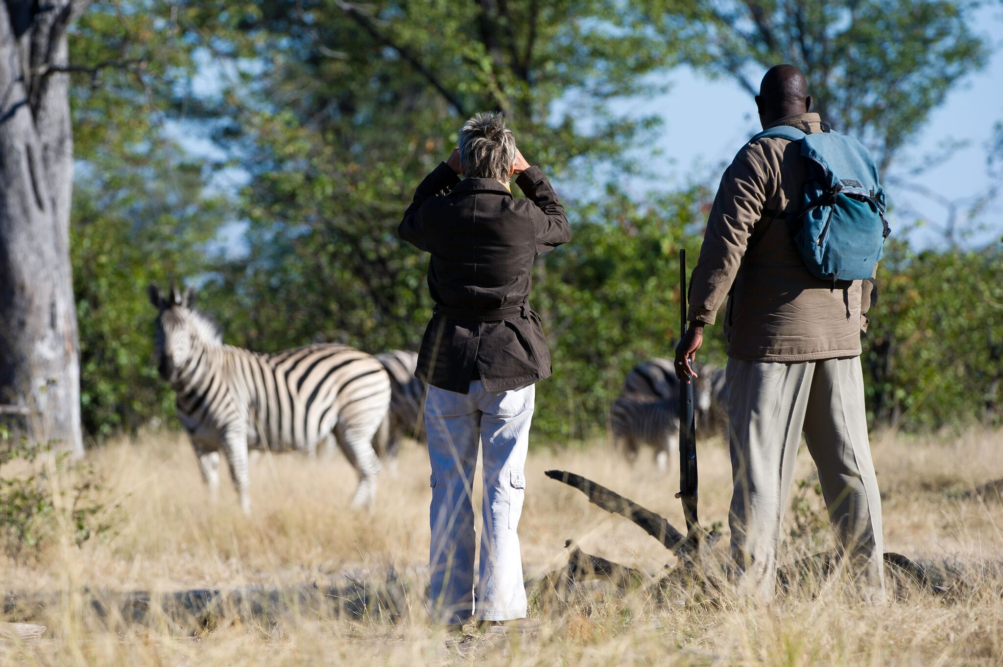 walking safari in Zambia