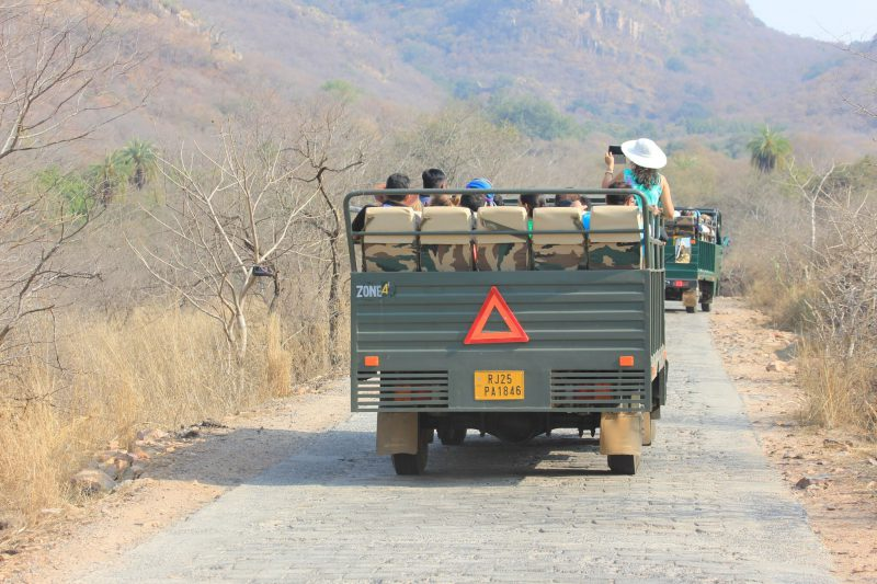 A canter, carrying up to 24 people on a safari