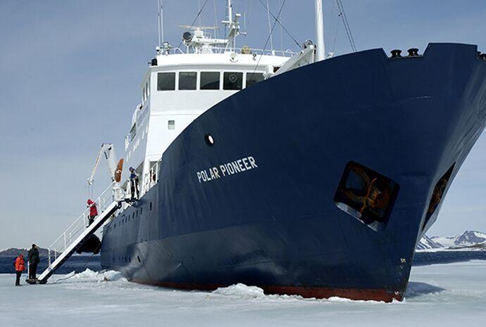 Arctic Exploration Cruise Vessel The Polar Pioneer