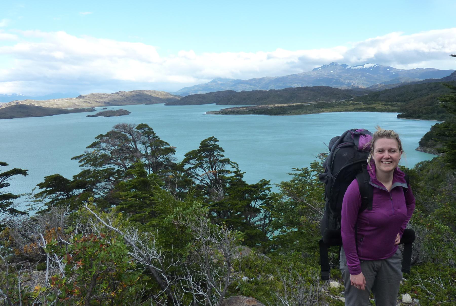 Natalie In Patagonia