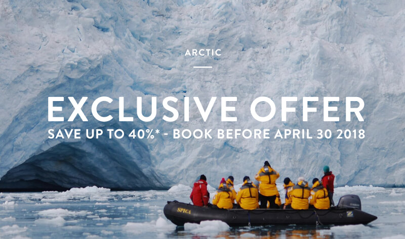 Discounts on Arctic Cruises