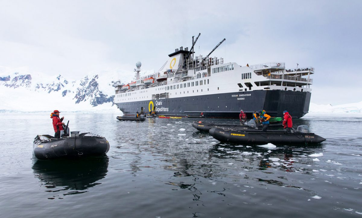 antarctic cruise vessel