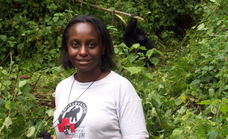 Gorilla Doctor Gladys Kalema-Zikusoka