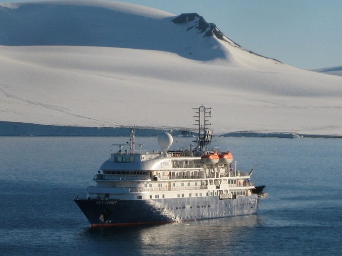 Ship Ice Mountain