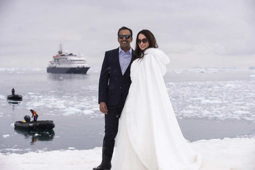 Wedding In Antarctica