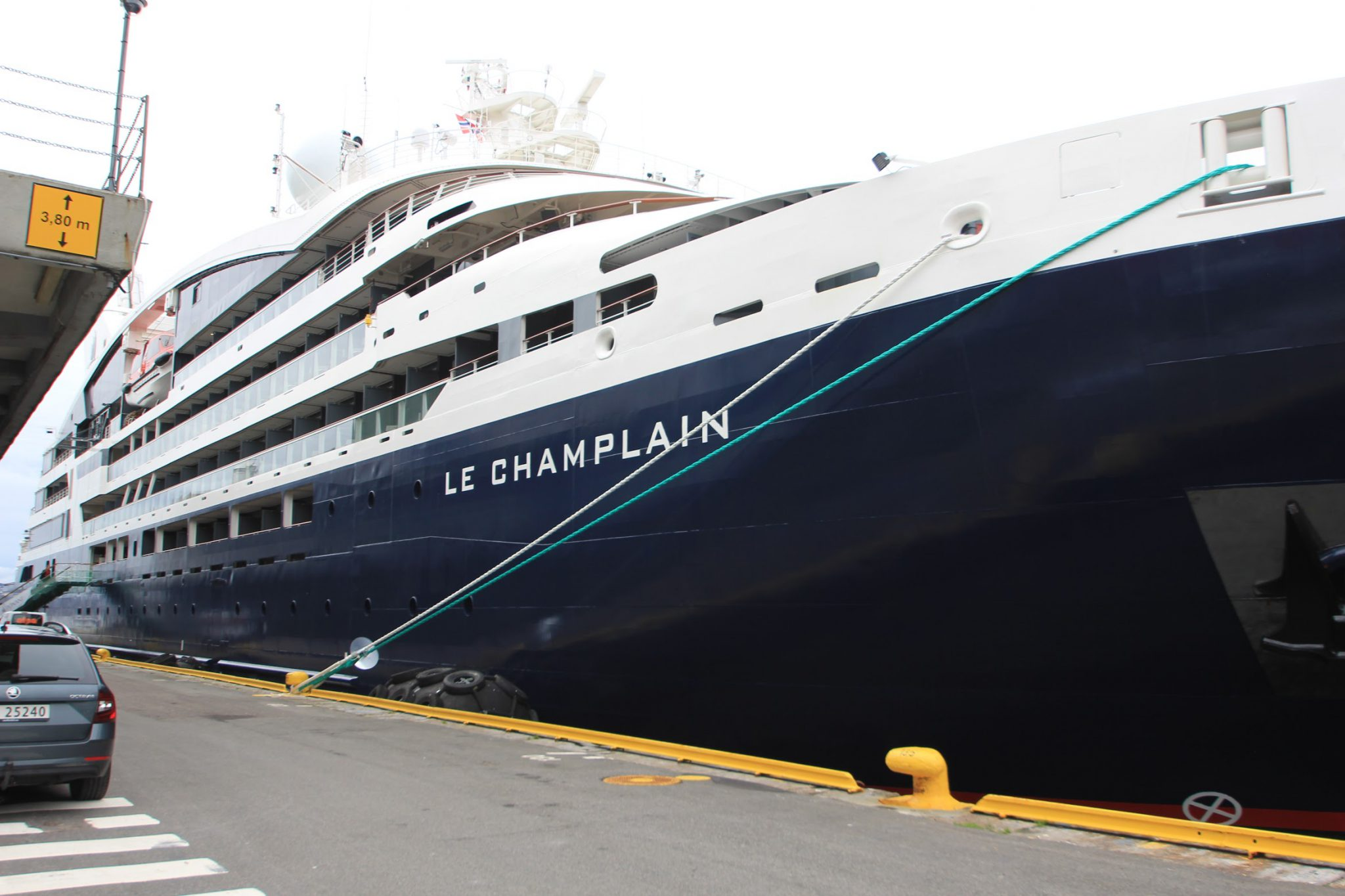 "New luxury expedition ship ""Le Champlain"""