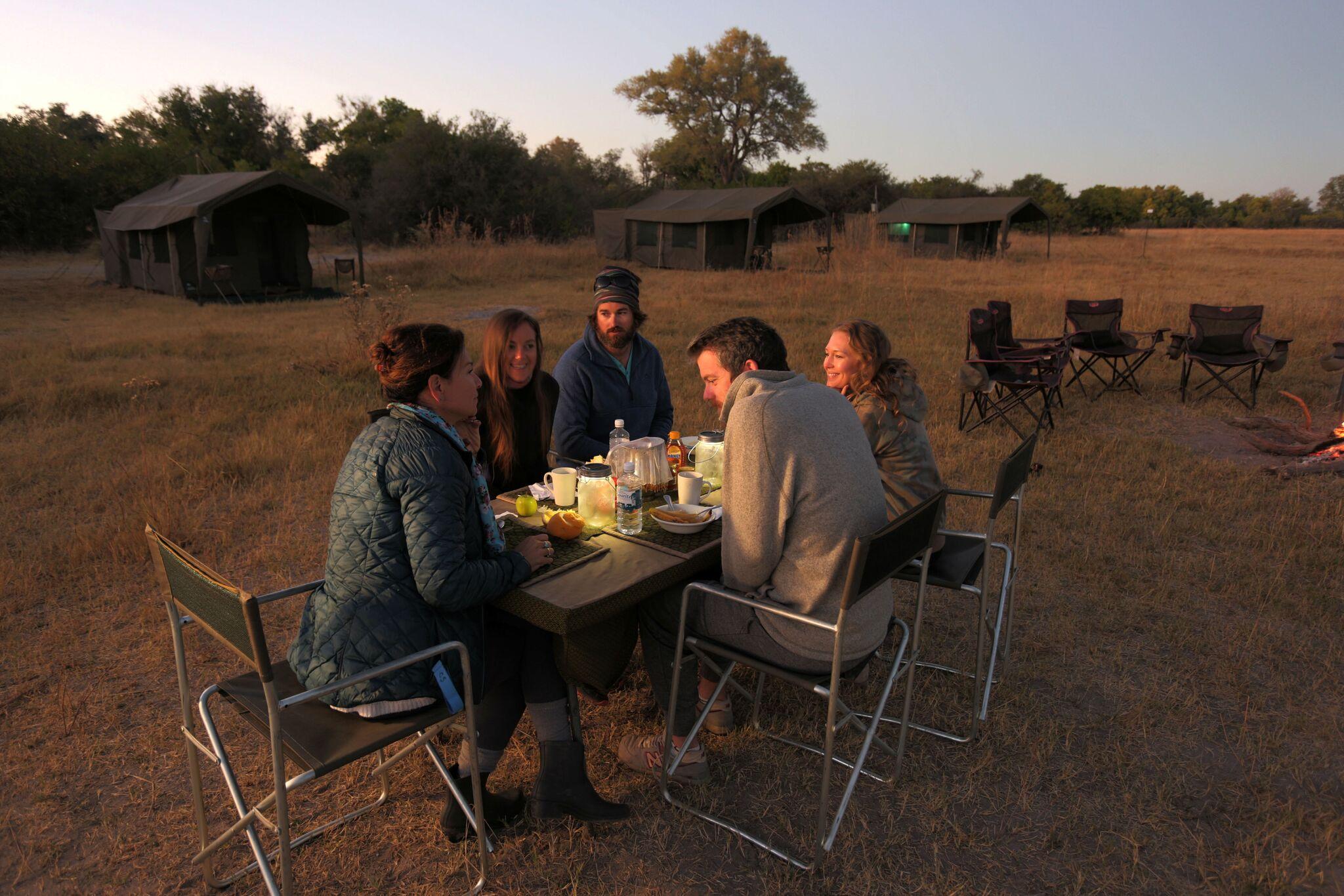 Food on on mobile safari