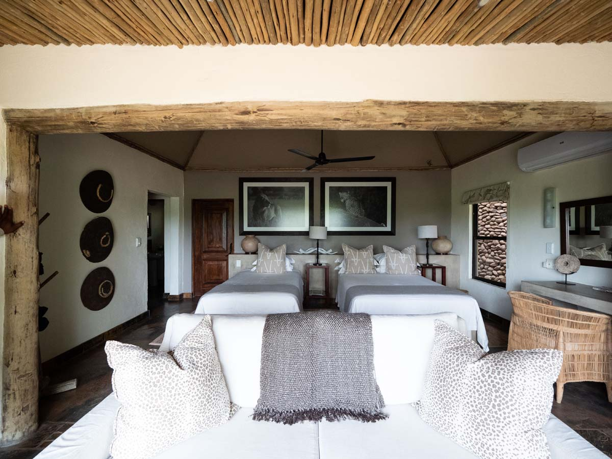 accommodation at the lodge