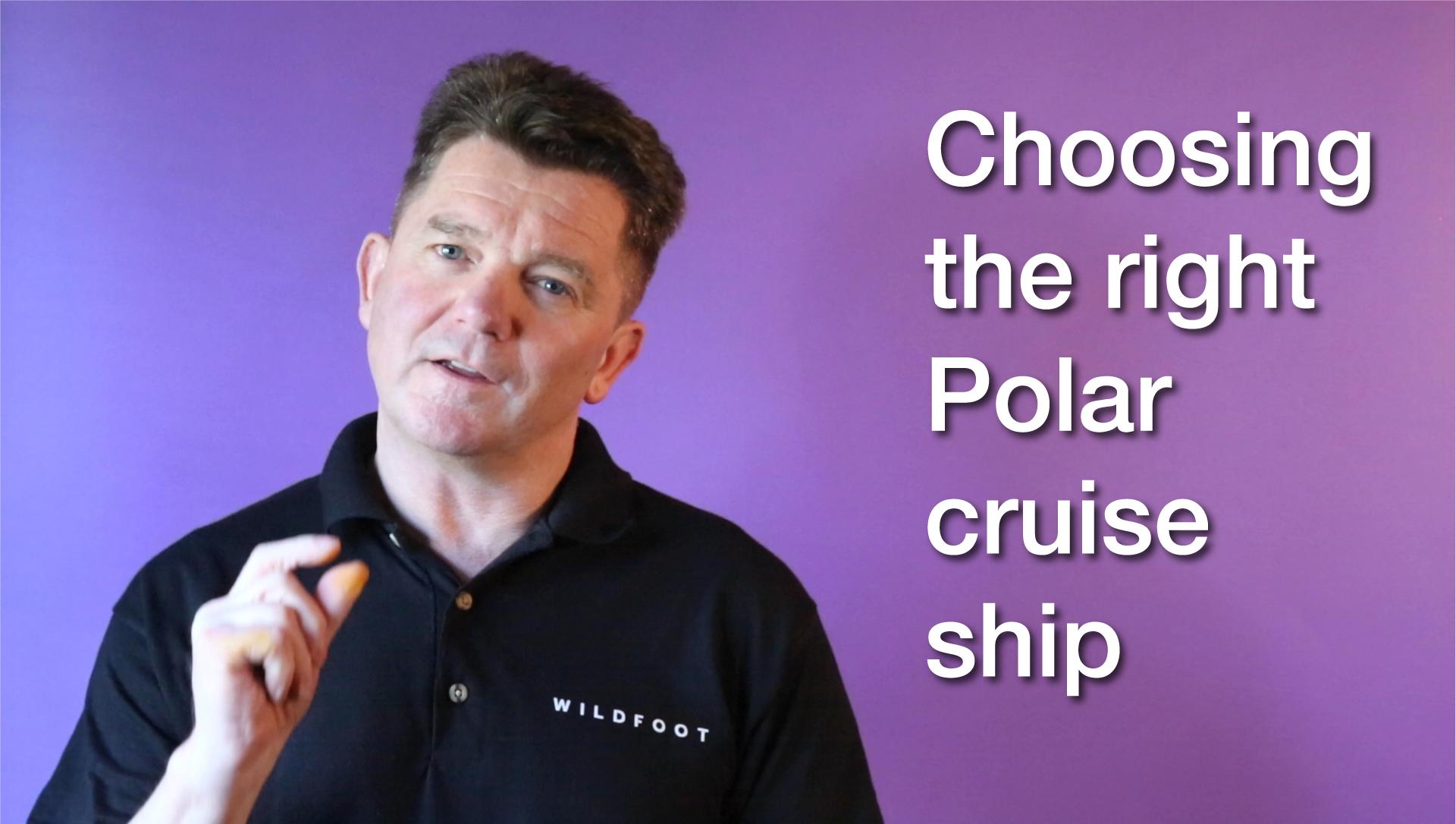 Choose a polar cruise ship