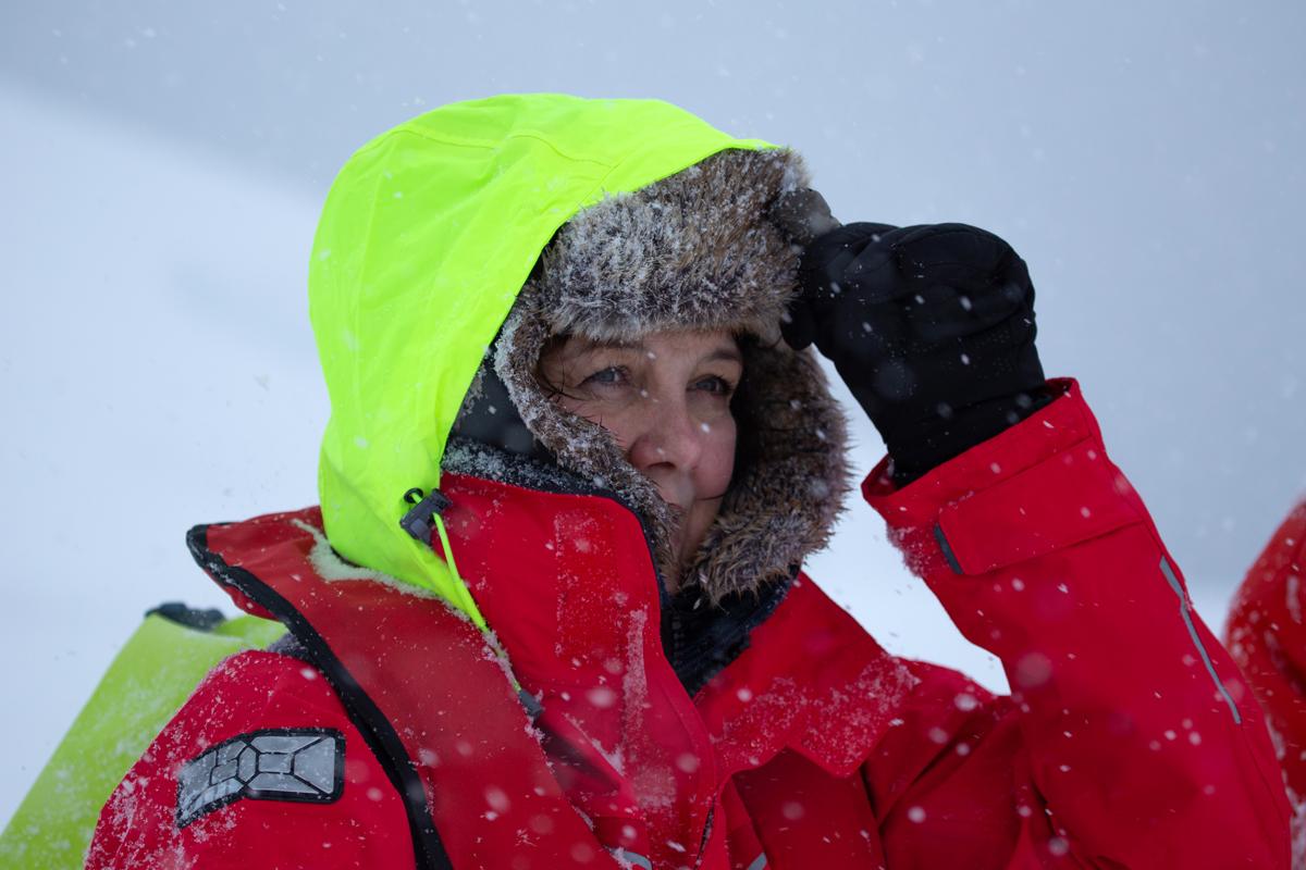Zoe In Antarctica