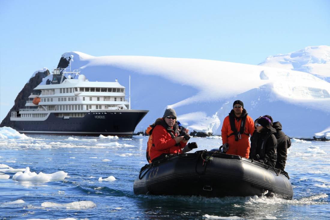 Polar Cruise Vessel Hondius