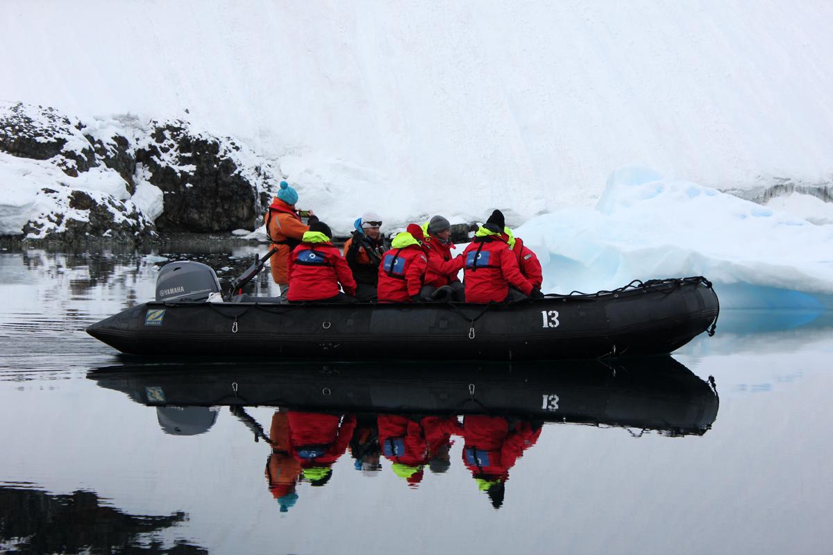 A Zodiac Cruise In Antarctica