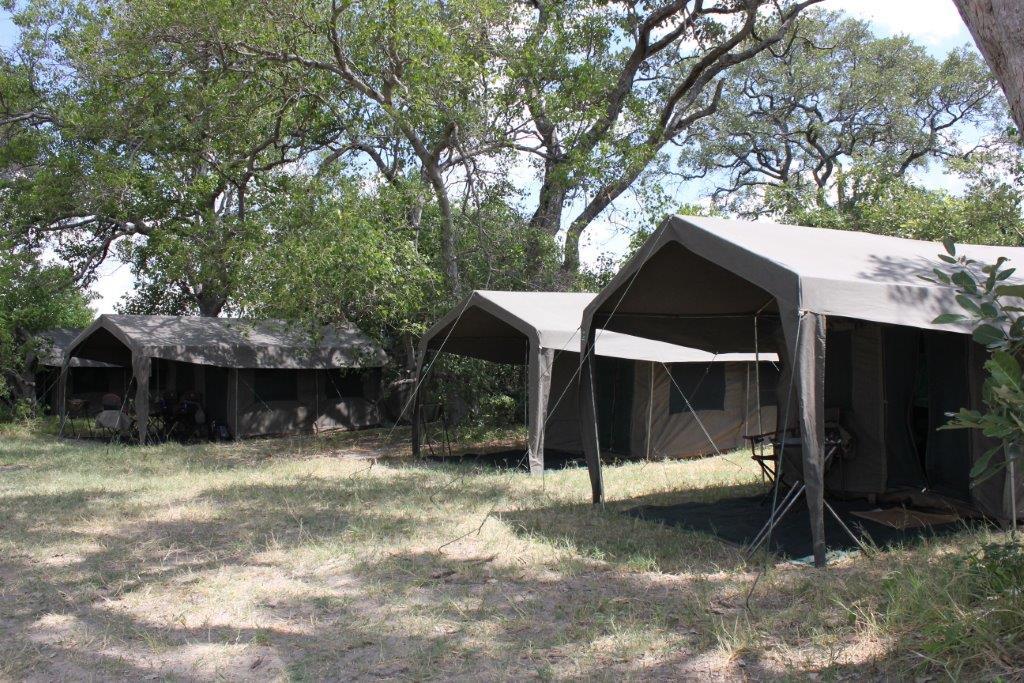 Cmaping on a mobile safari in Botswana