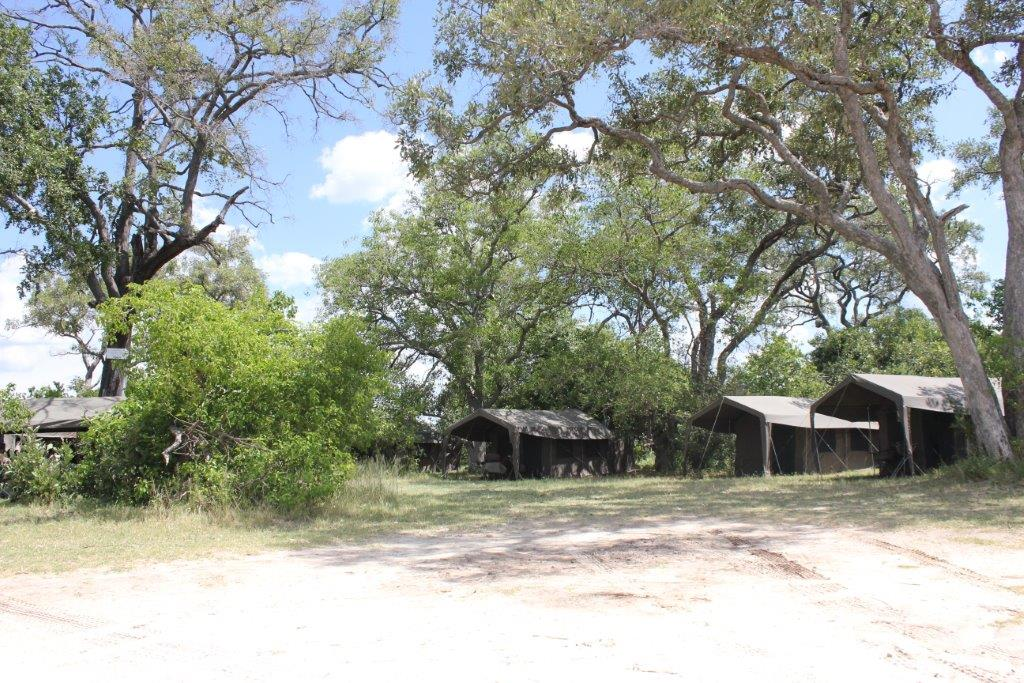 A mobile safari Camp in Botswana