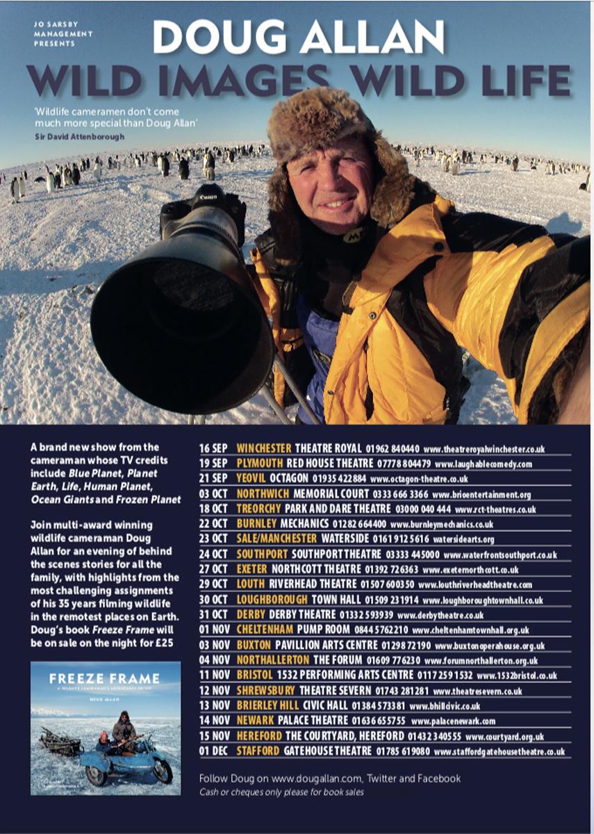 Doug Allan Lecture Tour