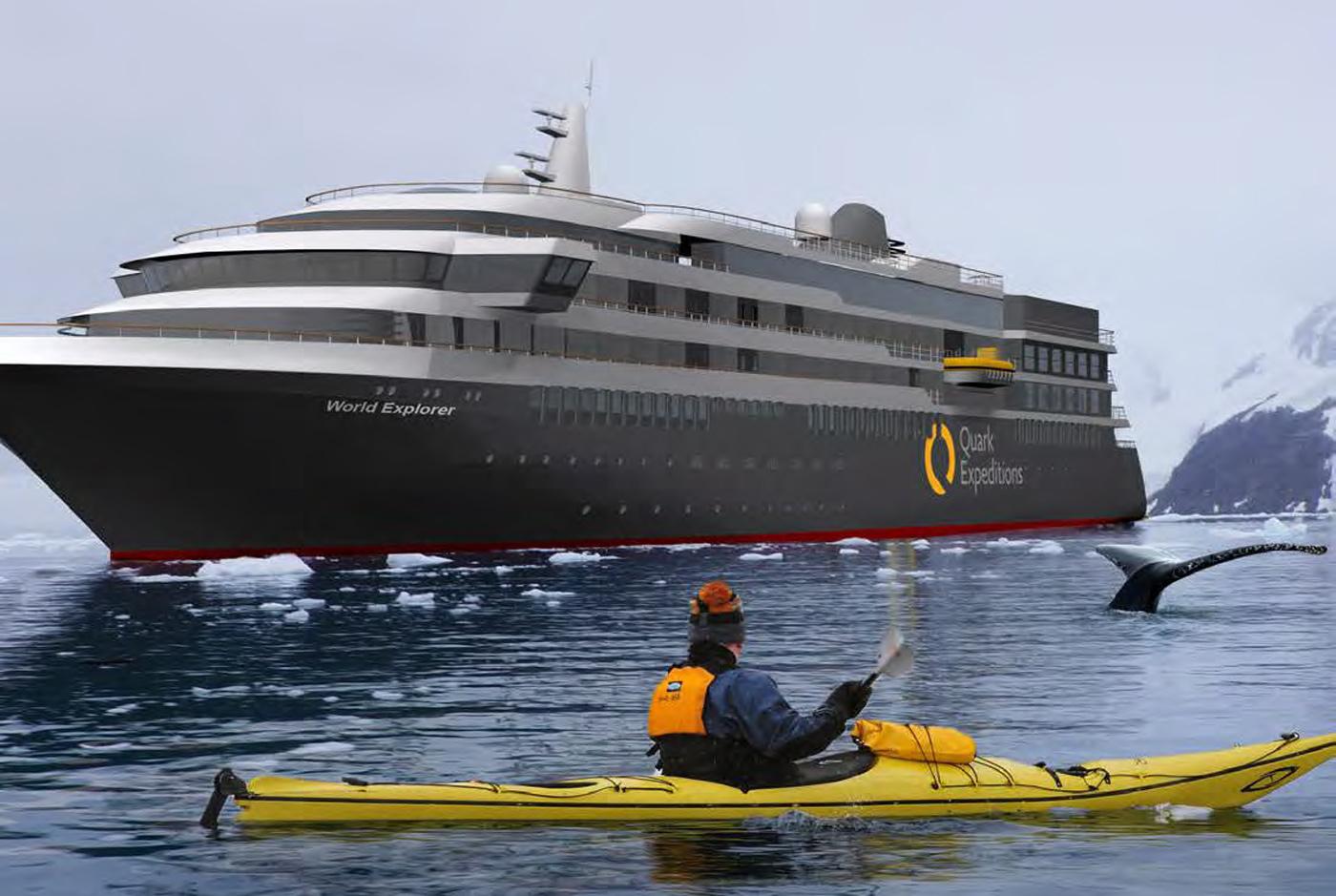 New Ploar Cruise Vessel Wolrd Explorerr