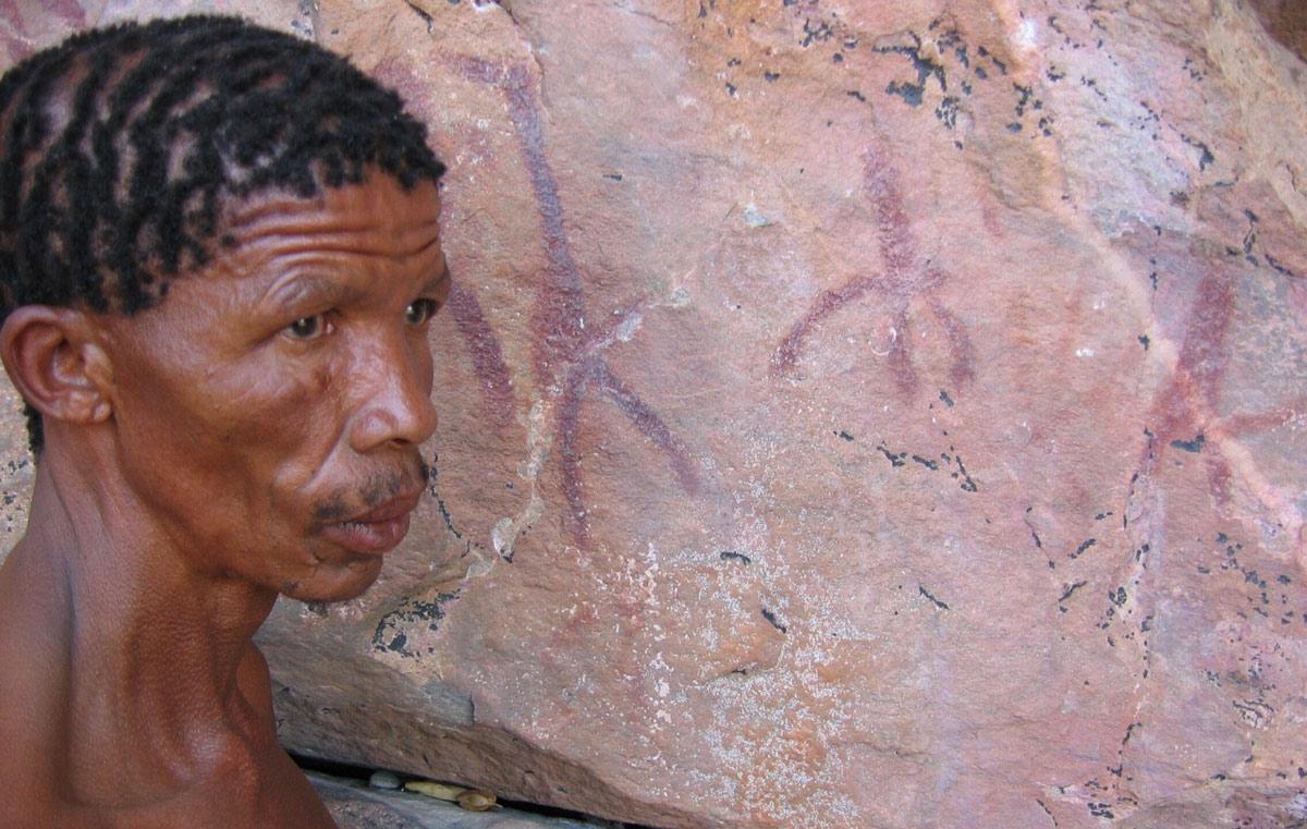 Tsodilo Ancient Art In Botswana