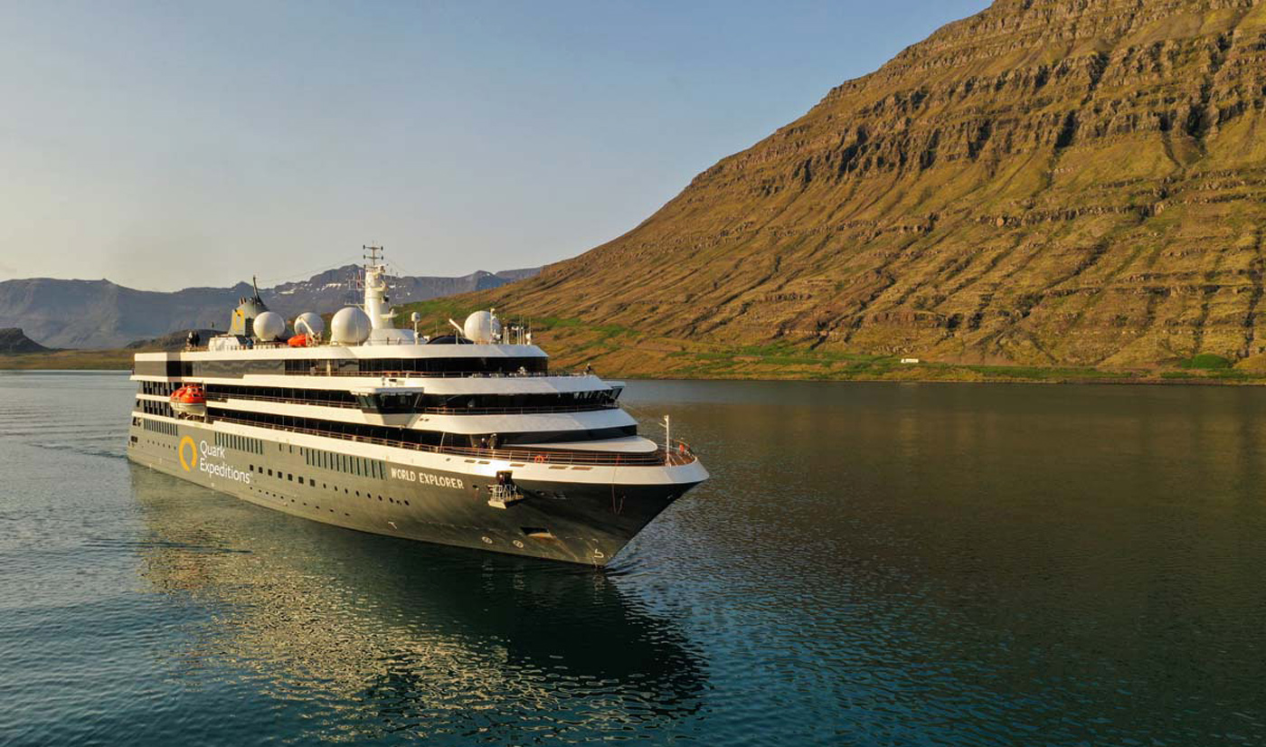 Polar Cruise Vessel World Explorer