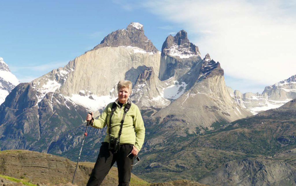 Cynthia in Chile
