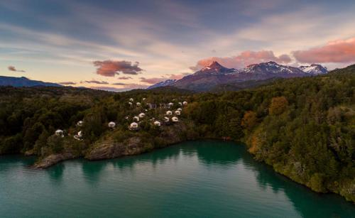 Sunset at Camp Patagonia
