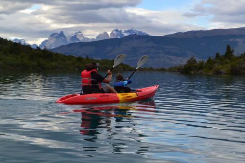 Kayak Lago Toro at Camp Patagonia