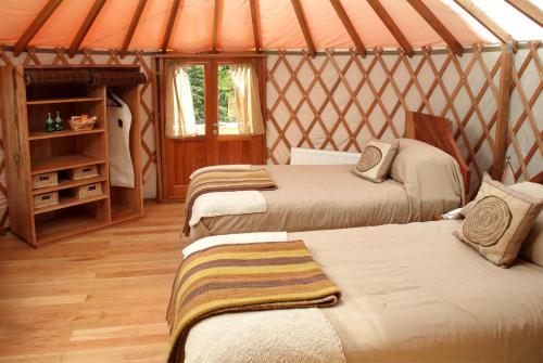 Twin Yurt Camp Patagonia