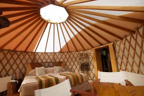 Yurt matrimonial Camp Patagonia