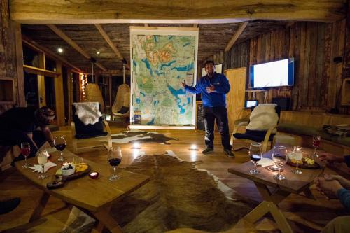 briefing at Camp Patagonia