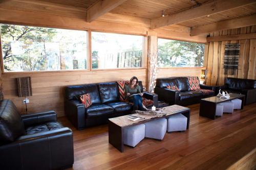 lounge at Camp Patagonia