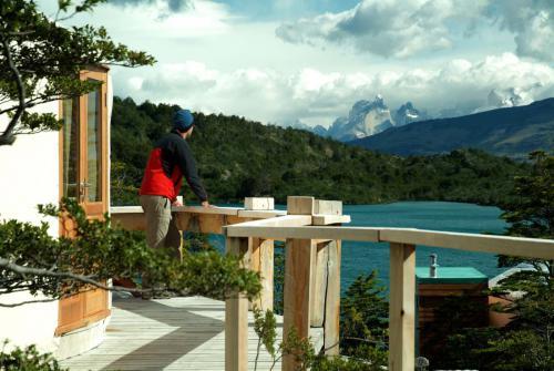 yurt balcony Camp Patagonia